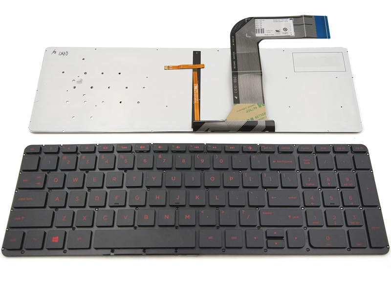 Genuine New Hp Pavilion 15 P 17 F Series Laptop Backlit Keyboard